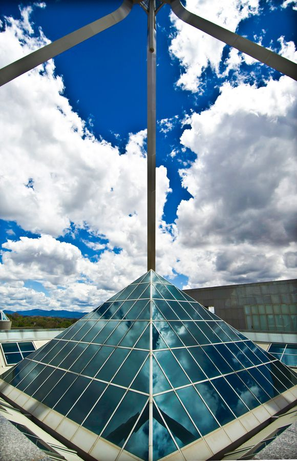 Roof of Parliament House Canberra, ACT, Australia