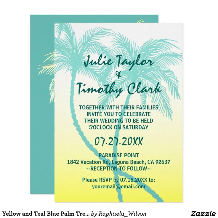 14 best Beach Wedding Invitations images on Pinterest Beach - best of wedding invitation maker laguna