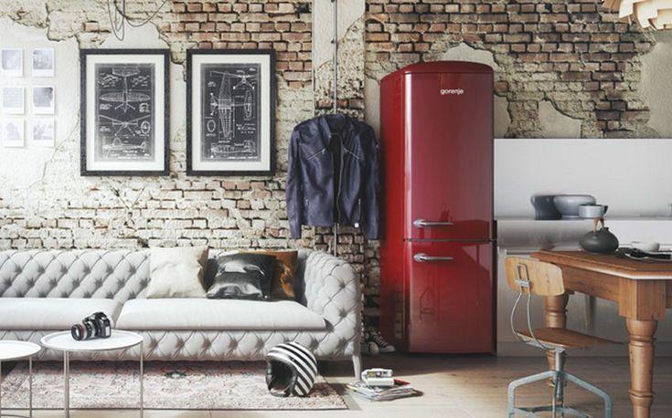 die besten 25 amerikanischer k hlschrank retro ideen auf. Black Bedroom Furniture Sets. Home Design Ideas