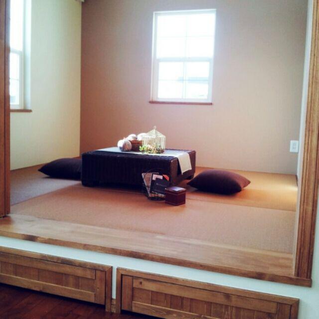 jomさんの、収納,小上がり,畳,部屋全体,のお部屋写真