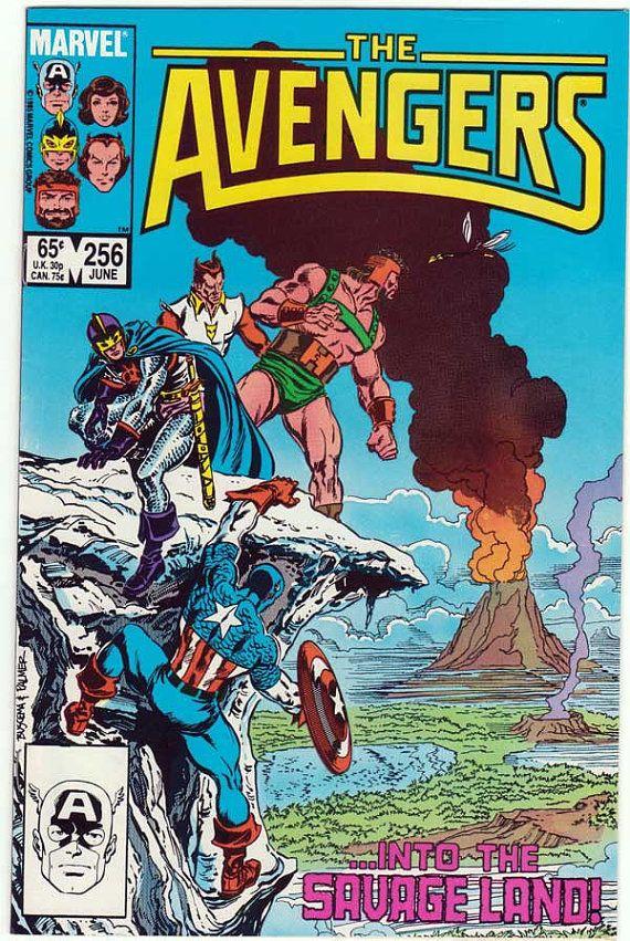The Avengers Comic Book, 1985. #marvel #uncommonshop #1980s