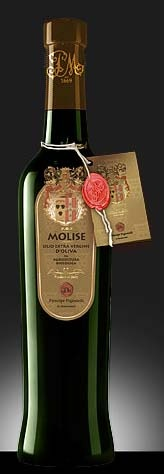 """Prince Pignatelli Organic Extra Virgin Olive Oil D.O.P., is obtained from the """"Leccino"""",""""White Paesana"""", """"Black Paesana"""", """"Aurina"""" and """"Sperone di Gallo"""" varieties, coming from the ancient Principe Pignatelli estates and cultivated according to the organic farming procedures. It has an intense yellow color and a middle-light taste with a fresh olives and almonds aftertaste. First cold press http://www.bestfromitaly.us/Principe_Pignatelli/Olive_Oil_Organic_Bio_D.O.P.htm"""