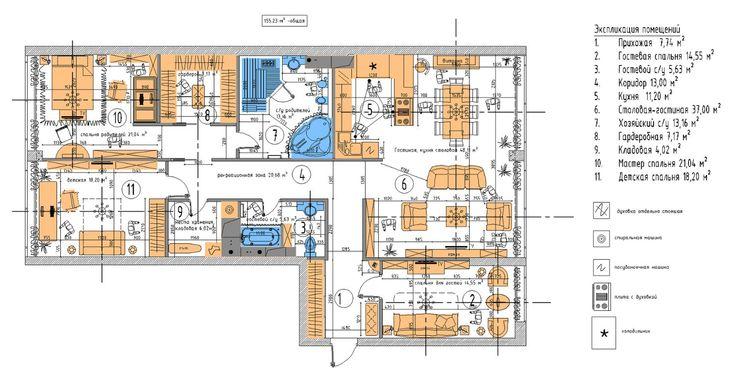 Дизайн-проект помещения   HLA & Design