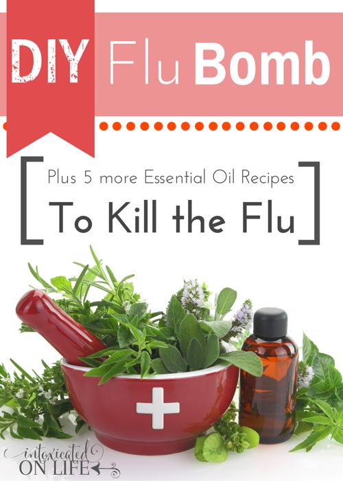 Ready to learn how to kill and prevent the flu NATURALLY?! Check out these great recipes for kicking the flu to the curb @ IntoxicatedOnLife.com #Flu #NaturalRemedies