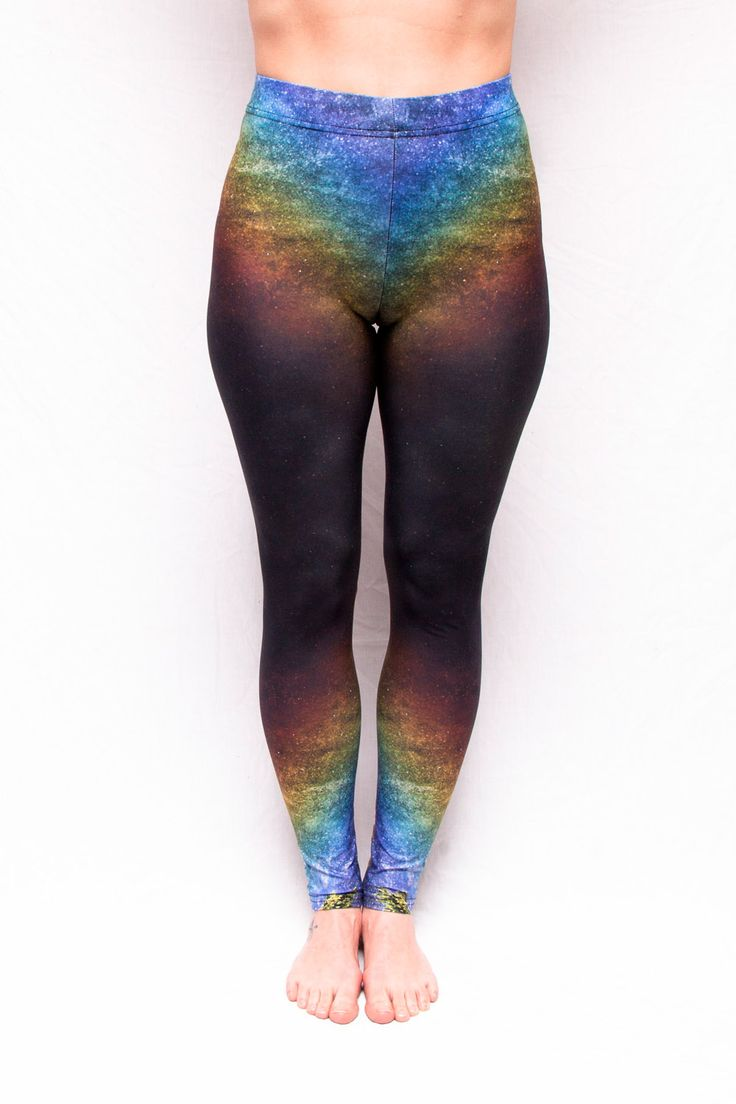"""""""Prismatic"""" Rainbow Leggings - 70$ Free Shipping to Canada & USA Ethically Made in Canada."""