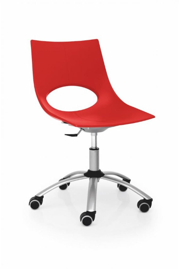 Red office chair modern - Congress Modern Office Chair By Calligaris Red Shown