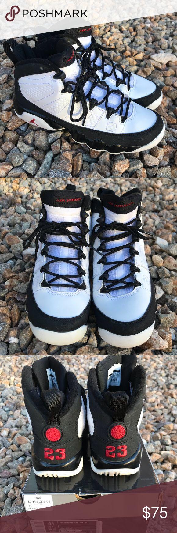 """Air Jordan 9 Retro OG """"Space Jam"""" Youth size 4.5 Air"""