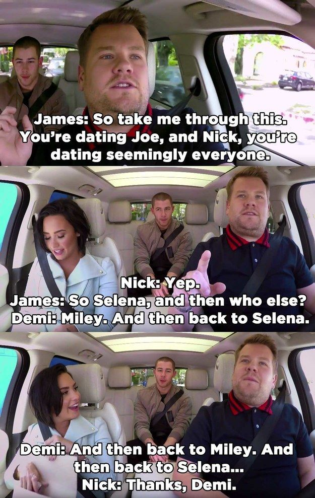 Seriously, the dating life of '00s Disney Channel teens was more complex and way more exciting than a soap opera.   Nick Jonas And Demi Lovato On Carpool Karaoke Will Give You All The Nostalgia Feels