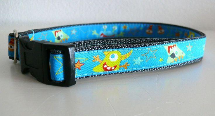 Gürtel Kindergürtel Gurtband Monster 2cm breit von Klitzefanten auf DaWanda.com