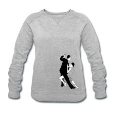 Frauen Sweatshirt Tangotanz