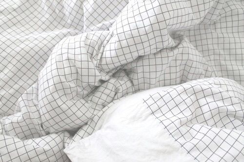 aesthetic, bed, bedsheets, clear, light, tumblr, white, white aesthetic