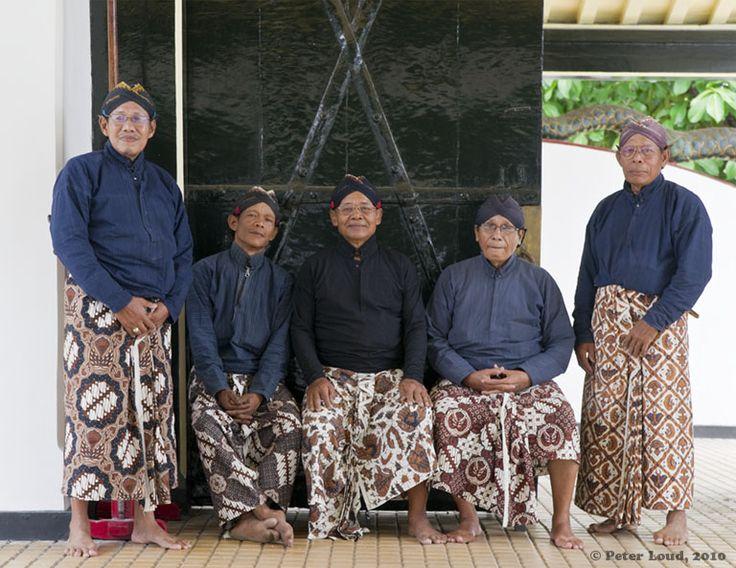Kraton Retainers, Yogyakarta, Indonesia