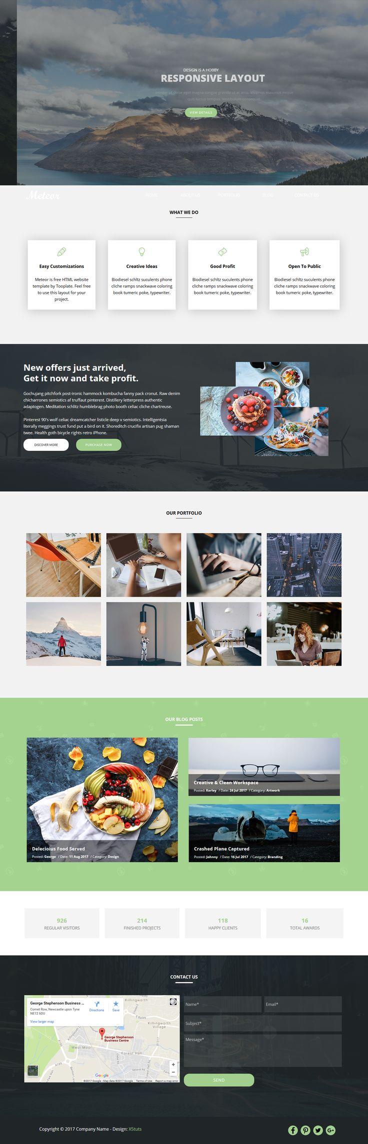 69 best Website x5 v13 Templates images on Pinterest