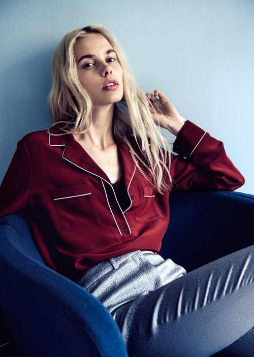 pajama shirt, piping detail