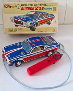 Vintage 1970. Pièce de collection. RUSHER Z 28 Camaro L