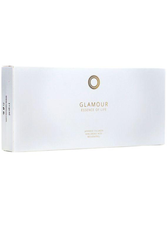 Ramissio Glamour představuje vysoce účinné sérum zabraňující projevům přirozeného stárnutí pokožky. Jeho jedinečnost spočívá ve vysokém obsahu 100% čistého kolagenu z ryb v množství 12 000 mg v jedné dávce, čímž si získává své prvenství na trhu.