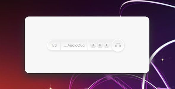 Cool HTML5 Music Player with automatic Flash fallback