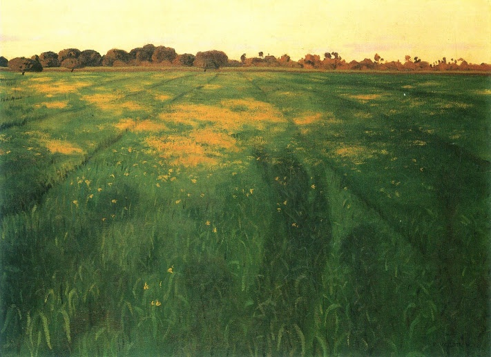 Felix Vallotton - Nabi Period - Meadow Landscape