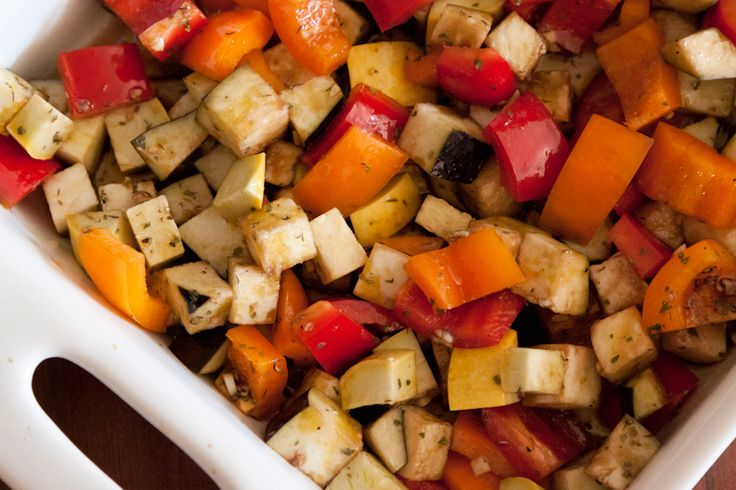 Spiced Balsamic Marinade for Roasted Vegetables. Serve over a bed of ...