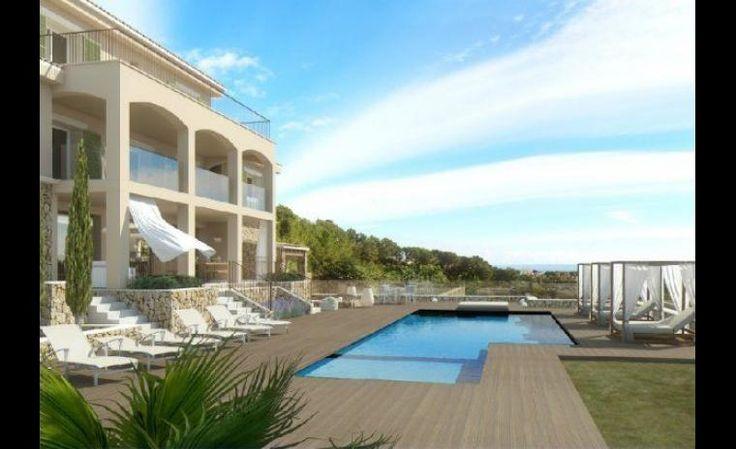 10 maisons de vacances au bord de la mer | CHEZ SOI Photo: ©homeaway.com #maison #vacances #mer #borddeleau #location #maisondereve #maisondevacances #majorque #espagne
