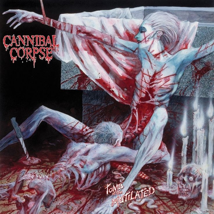 Cannibal Corpse - Tomb Of The Mutilated on Limited Edition LP