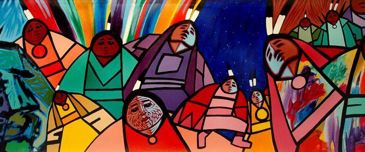 Jerry Whitehead - Saskatchewan Cree artist