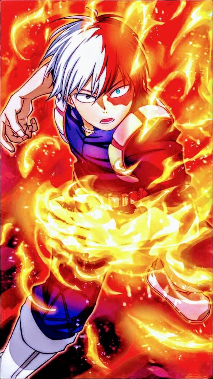 Download Shoto Todoroki Wallpaper By Animeking1999 21 Free On Zedge Now Browse Millions Of Popul Hero Wallpaper My Hero Academia Episodes Anime Wallpaper