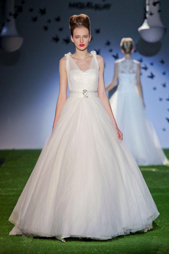 Robe de mariée de princesse Miquel Suay, collection 2014
