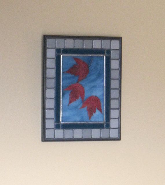 Autumn leaves:  Floating on the Breeze 1   Wall by RockinMosaics