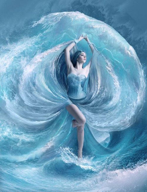"""""""Show off"""" Cass muttered looking at Bree in the waves. Dancing with the water and bending it at her will"""