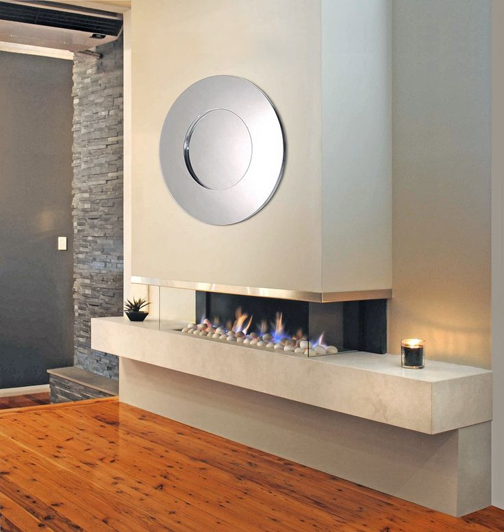 Kemlan Horizon Cantilever | Fireplace Corner || Comes in 1100mm || Coal, Pebble or Log
