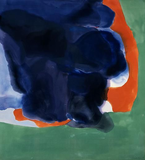 Coalition, 1968 Acrylic on canvas 83 x 75 ½ inches