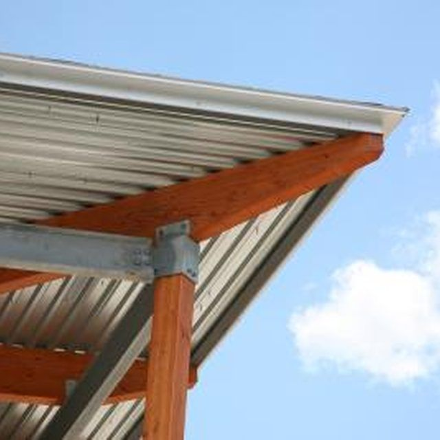 Good How To Install Corrugated Roof Panels Under A Deck