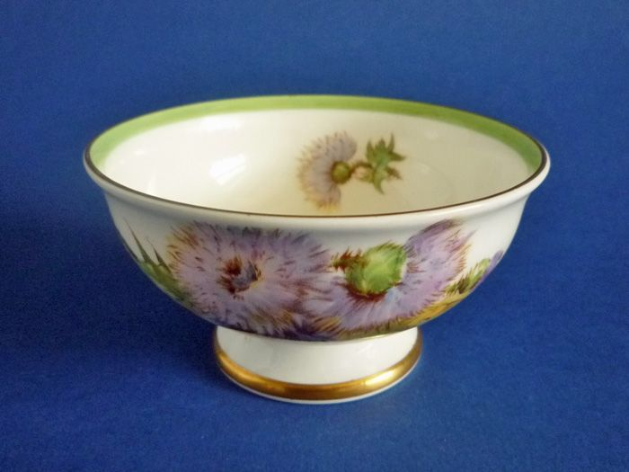 Royal Doulton 'Glamis Thistle' Small Sugar Bowl by Percy Curnock c1950