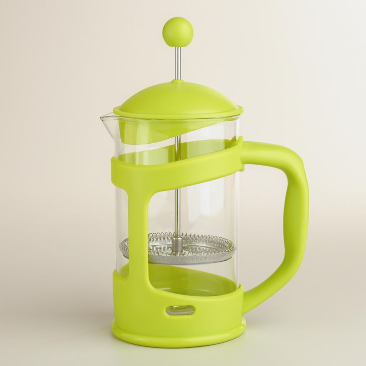 Green 3-Cup French Press | World Market