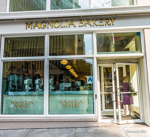 magnolia bakery new york Cupcakes but their banana pudding is out of this world