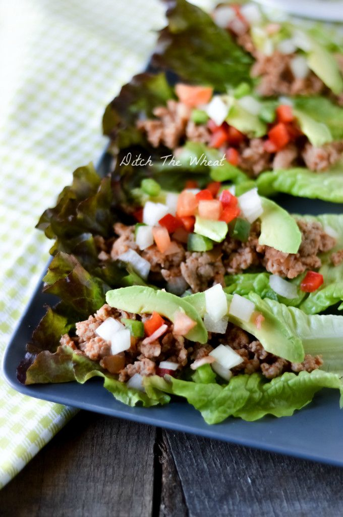 Ground Pork Tacos- a staple in our house now. Ground pork is my new favorite thing ever
