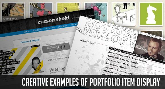 Online Portfolio Examples