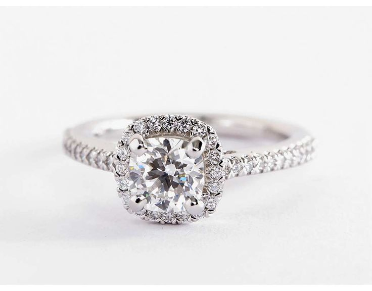 25 best ideas about cushion cut halo on