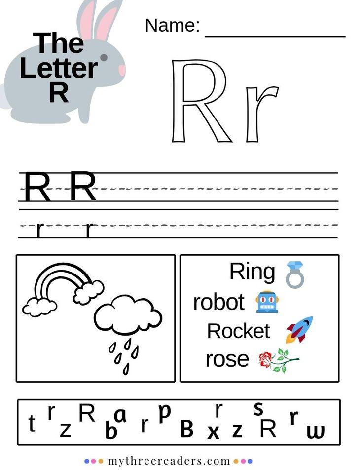 Az Worksheets For Kindergarten