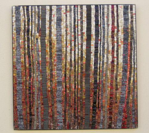 Mosaic trees. Giovanna GALLI - Maison de la Mosaïque Contemporaine