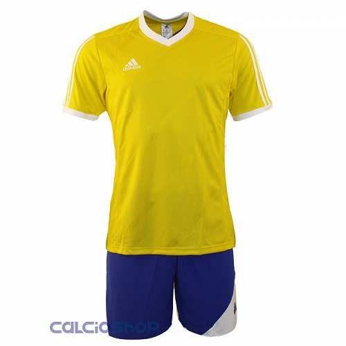 Prezzi e Sconti: #Adidas tabela 14 giallo / azzurro mc panta  ad Euro 14.90 in #20314 #Outlet outlet completi calcio