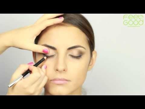 Как сделать идеальный макияж для карих глаз - YouTube