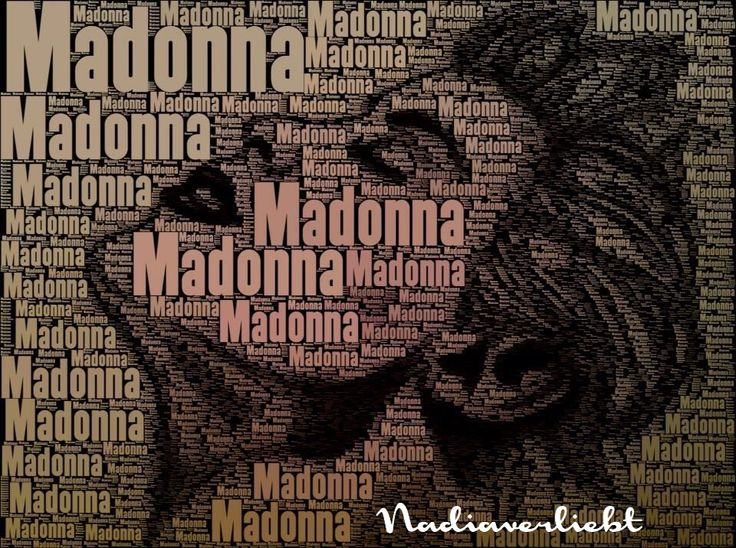 Madonna drawing and effects by Nadiaverliebt #madonna #art #drawing #design #pencil #graphic #design #crafts