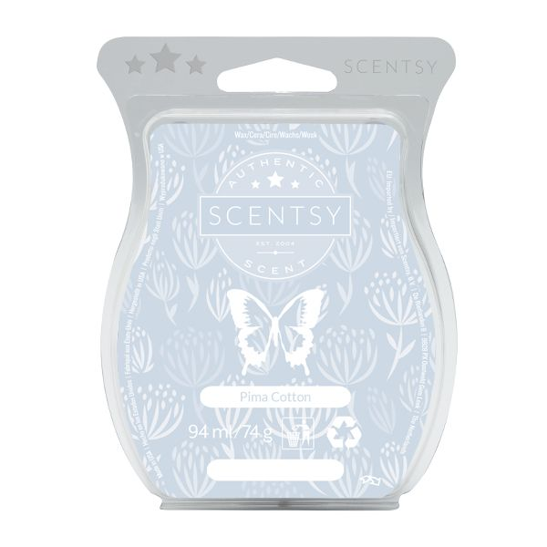 BUY PIMA COTTON   SCENTSY CANDLE BAR ONLINE IN UK AND IRELAND - WWW.WICK-FREECANDLES.SCENTSY.IE
