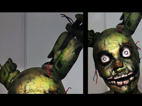 Diy springtrap ears five nights at freddy s 3 youtube costume