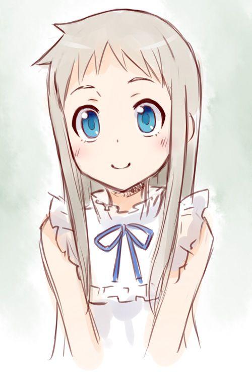Ano Hi Mita Hana No Namae O Bokutachi Wa Nada Shiranai Me enamore de este anime, además es una buena práctica para dibujar, si necesitas algo manda mensaje a mi correo.