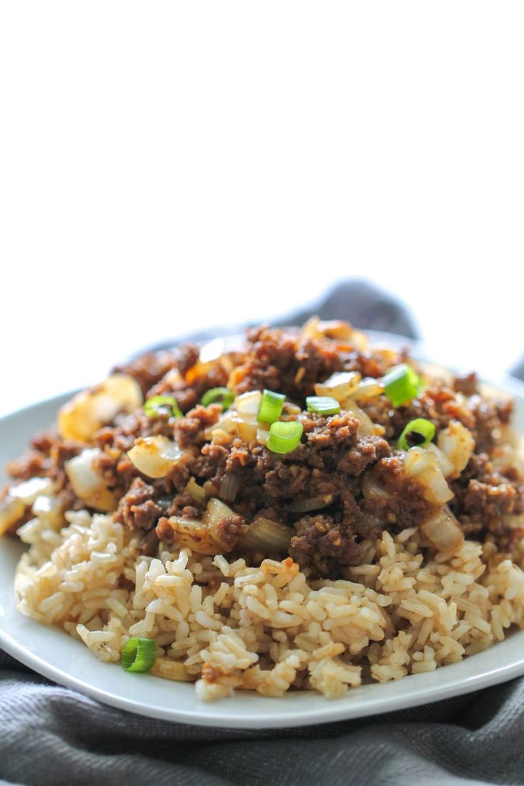 Teriyaki Beef Skillet Recipe – Six Sisters' Stuff | This skillet is full of flavor and can be made in 20 minutes or less! Perfect for when you need a quick meal for those busy school nights!