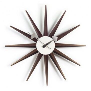 Sunburst Clock, Modern Sunburst Clocks & Vitra Sunburst Clock | YLiving