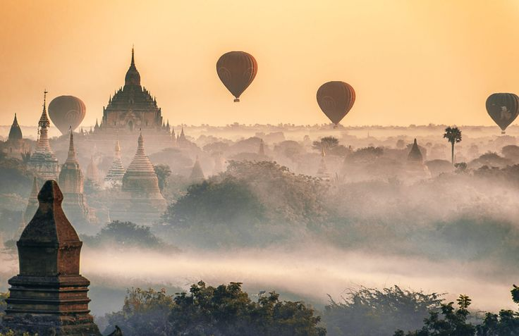 Balloons Over Bagan by Zay Yar Lin on 500px
